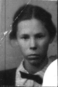Shelepina Irina Glebovna. 1945.